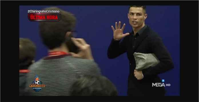 Ronaldo: Saya Menang Lima Liga Champions, Kamu Atletico Nol Besar!
