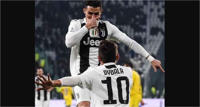 Ronaldo Sumbang 1 Gol, 1 Assist, Juventus 3-0 Frosinone