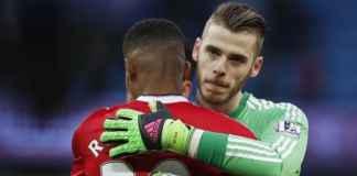 David de Gea dan Marcus Rashford, Manchester United
