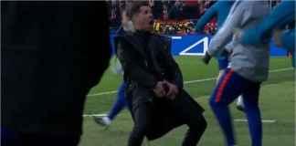 Atletico Madrid Menang, Diego Simeone Bertindak Aneh, Ejek Ronaldo?