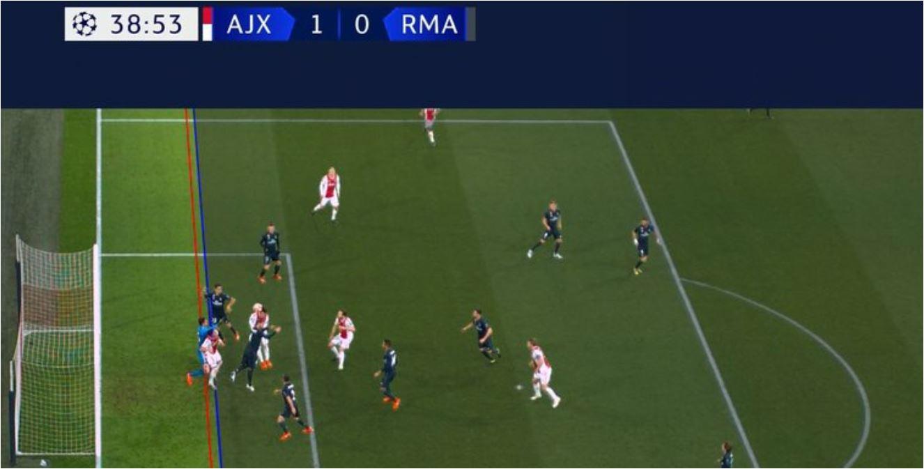 Ajax Vs Madrid: Real Madrid Ditolong Wasit, Gol Ajax Dibatalkan