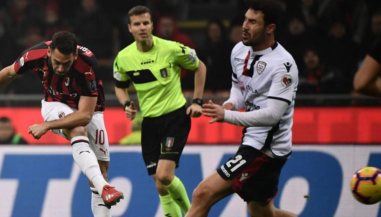 Hasil AC Milan Vs Cagliari, Skor 3-0