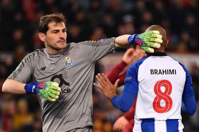 Hasil AS Roma vs Porto, Liga Champions Babak 16 Besar Leg Pertama