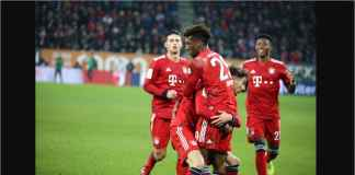 Hasil Augsburg vs Bayern Munchen Skor 2-3