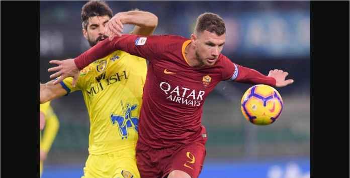 Hasil Liga Italia: Kalahkan Chievo, Roma Dekati Inter Milan