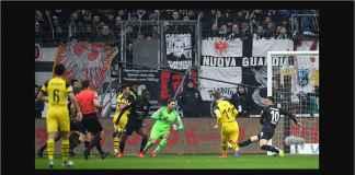 Hasil Eintracht Frankfurt vs Borussia Dortmund Skor Akhir 1-1