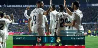 Hasil Levante vs Real Madrid - Liga Spanyol