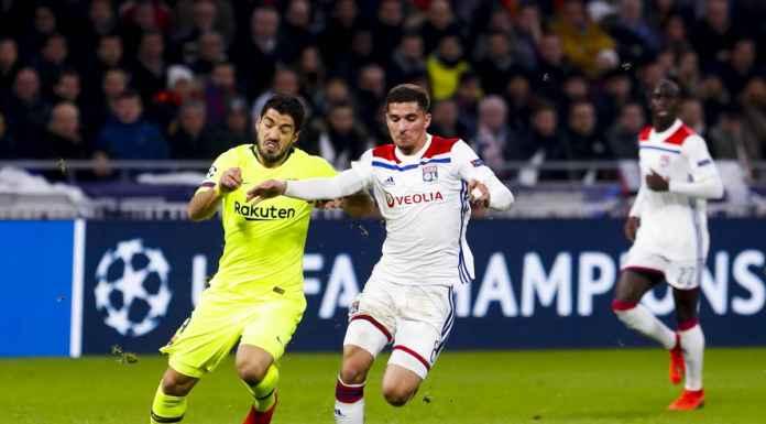 Hasil Lyon vs Barcelona di leg pertama babak 16 besar Liga Champions