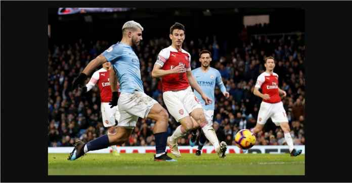 Hasil Manchester City vs Arsenal Skor Akhir 2-1