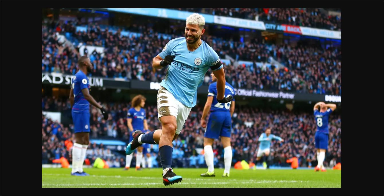 Man City Vs Chelsea: Hasil Manchester City Vs Chelsea 6-0! Aguero Pembunuh