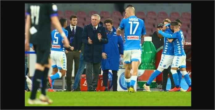 Napoli Menang 3-0, Tipiskan Jarak ke Juventus Jadi 8 Poin