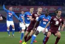 Hasil Napoli vs Torino di Liga Italia