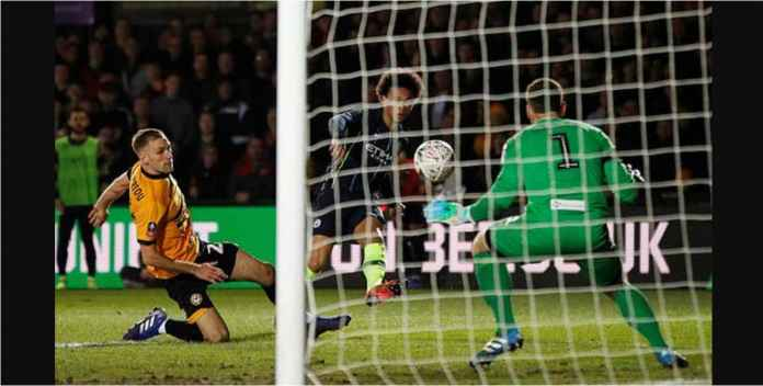 Hasil Newport County vs Manchester City Skor Akhir 0-1