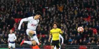 Hasil Tottenham Hotspur vs Borussia Dortmund di Liga Champions Babak 16 besar leg pertama
