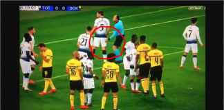 Wasit Tottenham vs Dortmund Ini Grepe-grepe Pantat Pemain