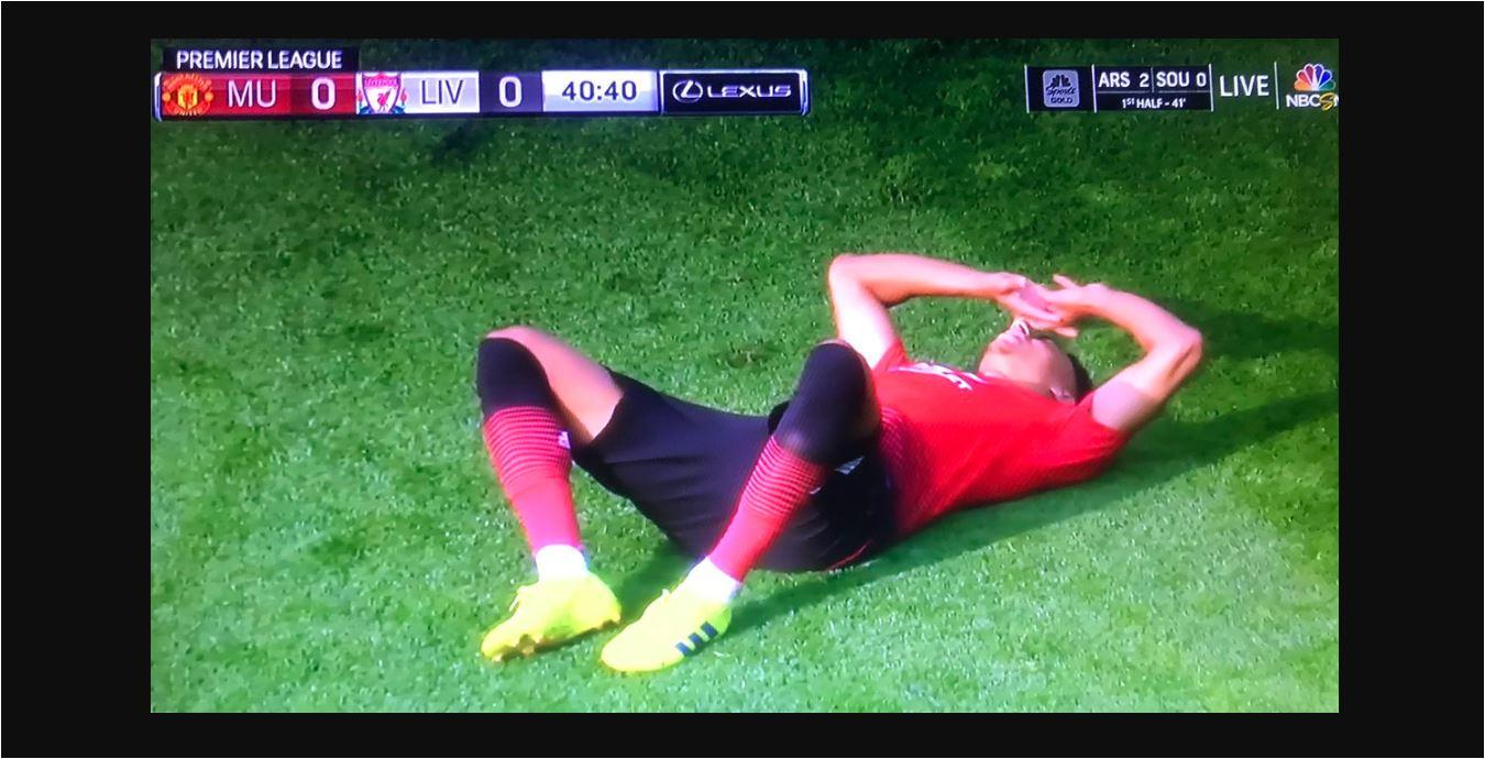 Manchester United Sudah Kehabisan Pemain Sebelum Turun Minum
