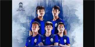 Kamboja Teror Myanmar 2-0 di Piala AFF U22