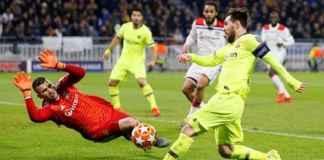 Barcelona Sia-siakan Peluang Lewat 25 Tembakan di Markas Lyon