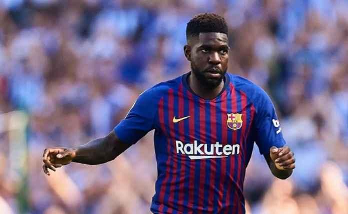 Pemain Barcelona Samuel Umtiti Bertekad Pulih Jelang Hadapi Lyon