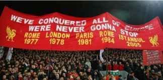 Liverpool vs Bayern Munchen: Semangat Didongkrak Suporter Anfield