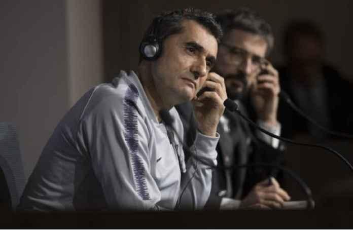 Ernesto Valverde Yakin Lyon Lawan Berat Barcelona