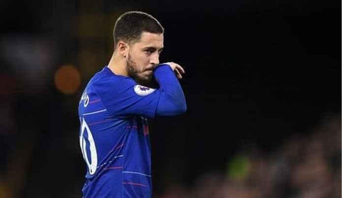 Fans Chelsea Lega Real Madrid Pikirkan Lagi Transfer Eden Hazard