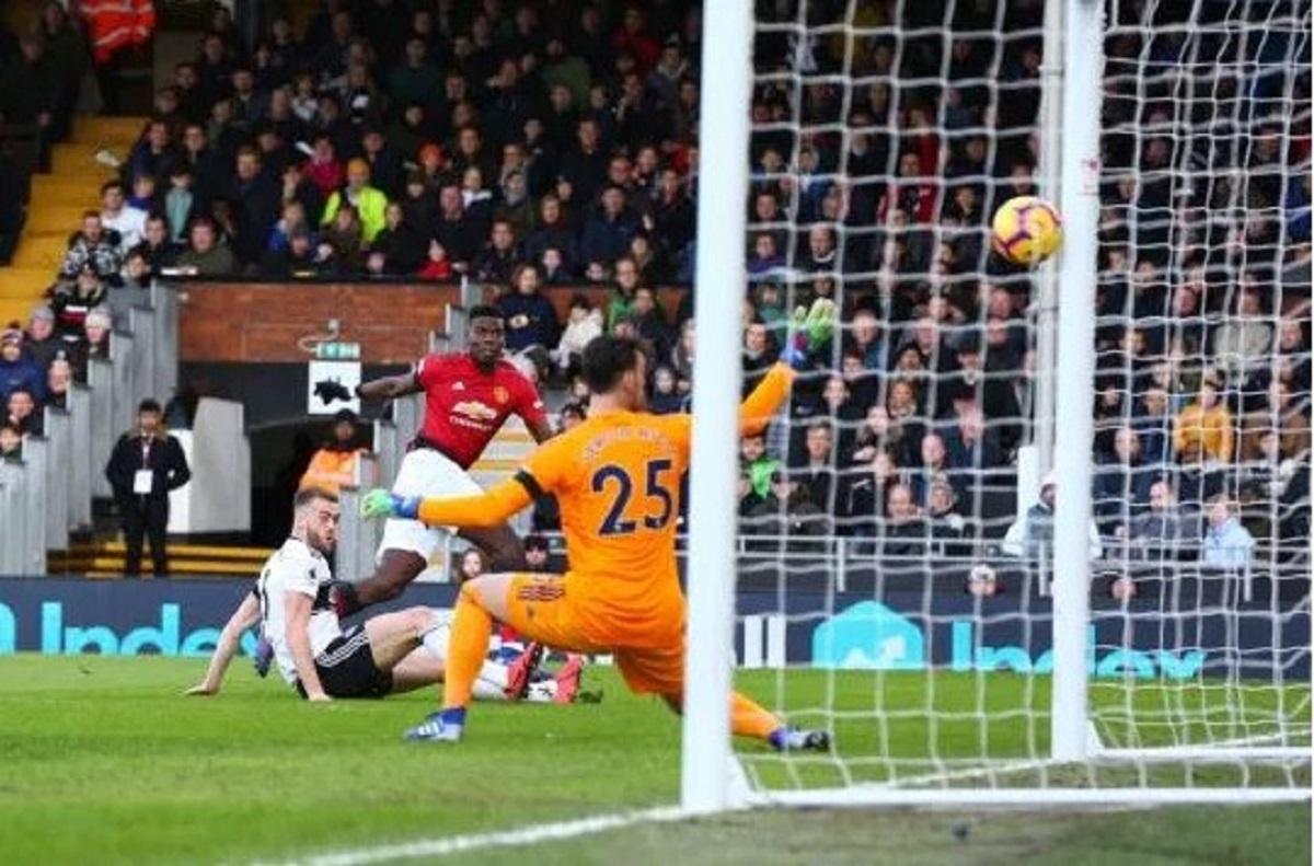 Paul Pogba Bukukan Rekor Saat Manchester United Kalahkan