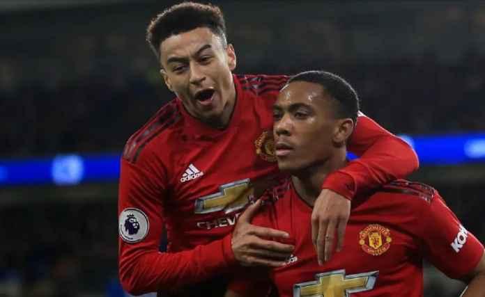 Manchester United 2 Pekan Tanpa Anthony Martial dan Jesse Lingard
