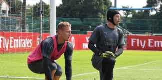 Arsenal: Petr Cech Didukung Angkat Trofi Liga Europa Sebelum Pensiun