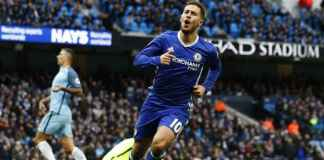 Berita - Eden Hazard Kembali ke False Nine di Chelsea vs Manchester City