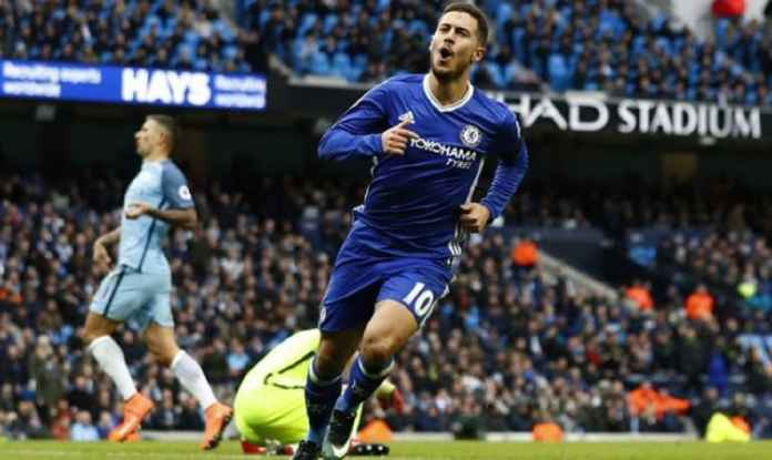 Berita - Eden Hazard Kembali ke False Nine di Chelsea vs Manchester City