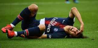 PSG Kehilangan Edinson Cavani Jelang Hadapi Manchester United