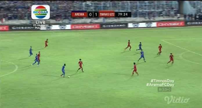 Hasil Arema FC vs Timnas Indonesia U-22, Skor 1-1