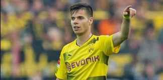 Pemain Borussia Dortmund Julian Weigl Tak Bantah Gabung Tottenham Hotspur