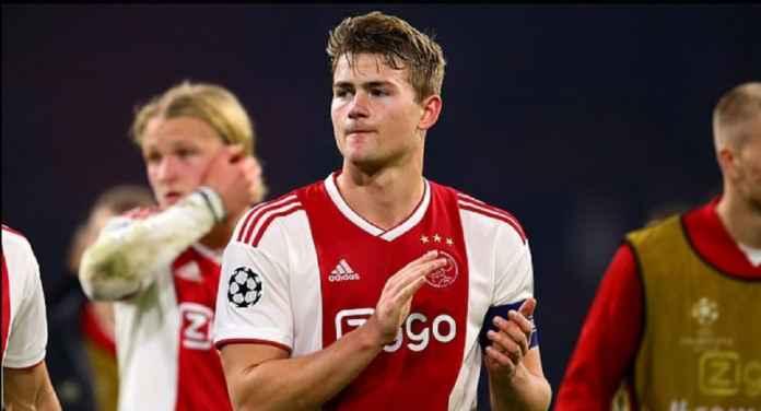 Barcelona Buka Peluang Manchester City Datangkan Matthijs de Ligt dari Ajax