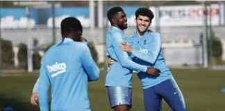 Barcelona Sambut Samuel Umtiti Latihan Lagi Jelang Bertemu Athletic Bilbao