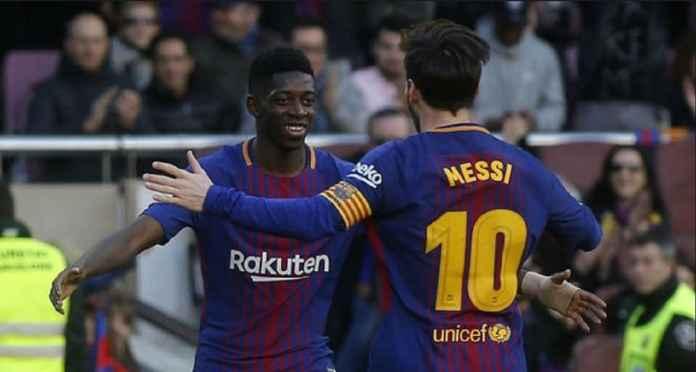 Barcelona Sambut Ousmane Dembele Jelang Bertemu Real Madrid