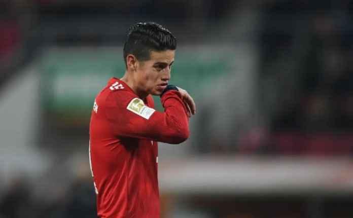 James Rodriguez Kembali ke Real Madrid Akhir Musim ini