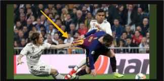 Luka Modric, Pemain Terbaik Dunia, Coba Curi Jersey Lionel Messi