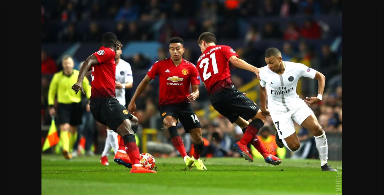 Man United Vs Psg: Manchester United Vs PSG Tanpa Gol Di Babak Pertama