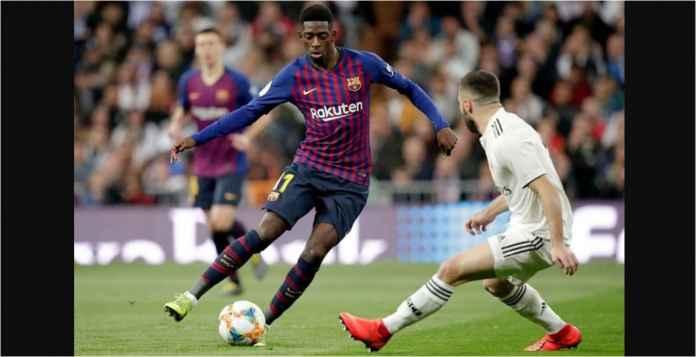 Ousmane Dembele Cari Musuh Dari Real Madrid dan Dalam Barcelona Sendiri