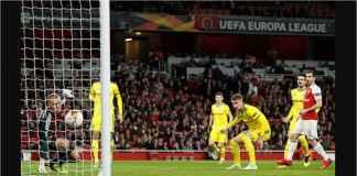 Gol Arsenal Menit Ketiga Merupakan Rekor Tersendiri di Kompetisi Eropa