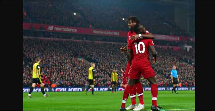 Liverpool Cetak Gol Cepat Melalui Sadio Mane Saat Jamu Watford