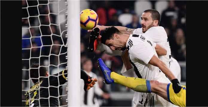 Juventus: Lihat Leonardo Bonucci Mencuri Gol Sami Khedira