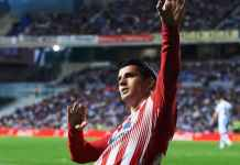 Alvaro Morata, Hasil Real Sociedad vs Atletico Madrid