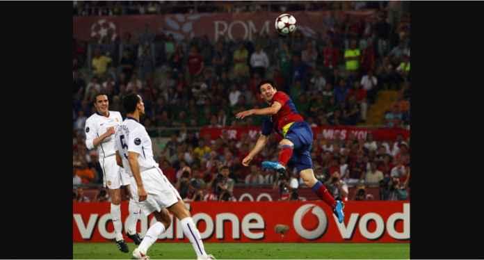 Barcelona vs Manchester United, Pertarungan Tim Pendek Lawan Tiang Listrik