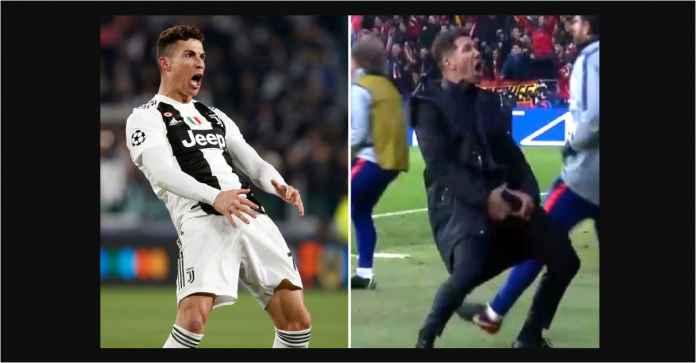 Ronaldo Terancam Denda Rp 325 Juta Usai Tirukan Goyang Pinggul Simeone