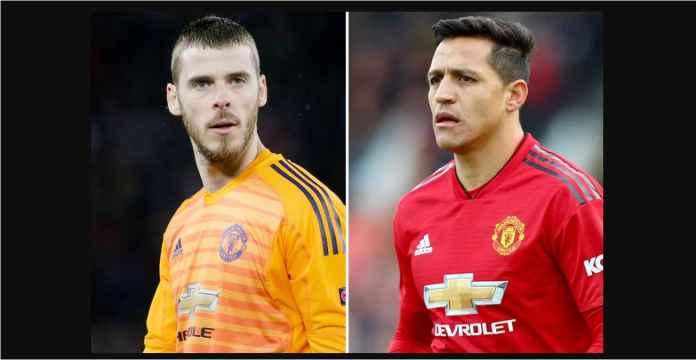 Jika Manchester United Gagal Buang Alexis Sanchez, David De Gea Pasti Pergi
