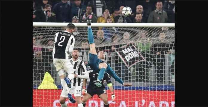 Ronaldo Cetak Gol Ini Terakhir Kali Laga Knockout Liga Champions di Juventus