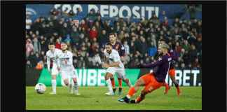 Hasil Swansea vs Manchester City 2-3 di Piala FA, Sergio Aguero Pahlawan